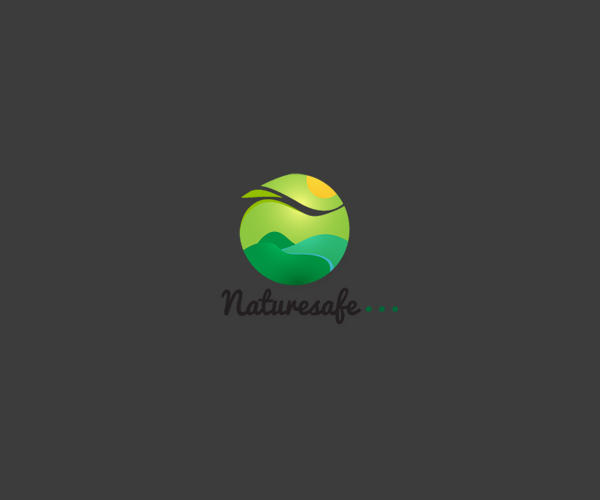 Nature Safe Logo For Free