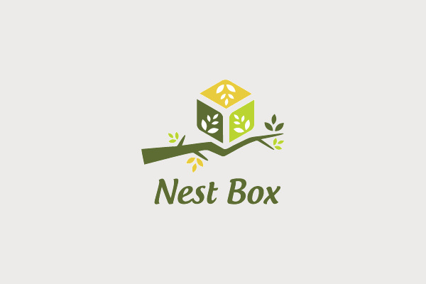 Nest Box Logo Design For Interior