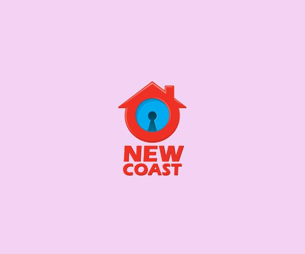 New Coast City Lock Logo