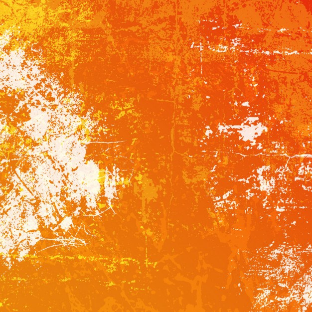 Orange Grunge Pattern Free Vector
