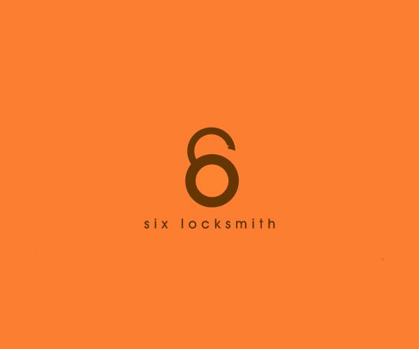 Orange Six Locksmith Logo