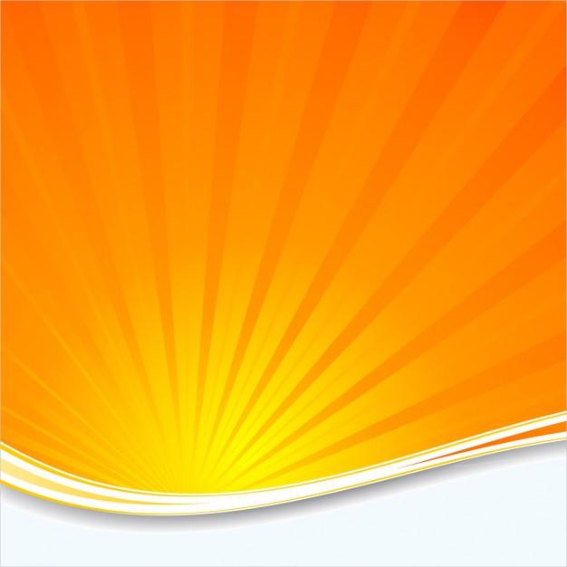 Orange Sunburst Background For Desktop