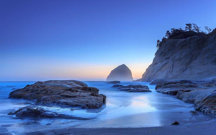 Oregon Pacific Ocean Beach Sunrise