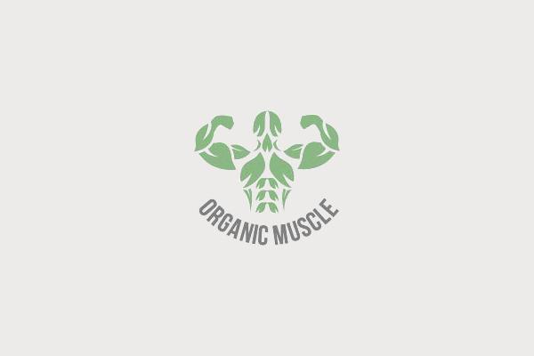 Organic Muscle Health Logo