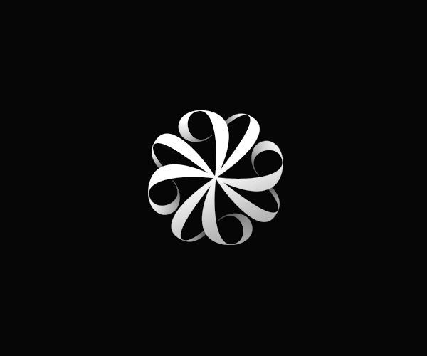 Ornamental Monogram Logo