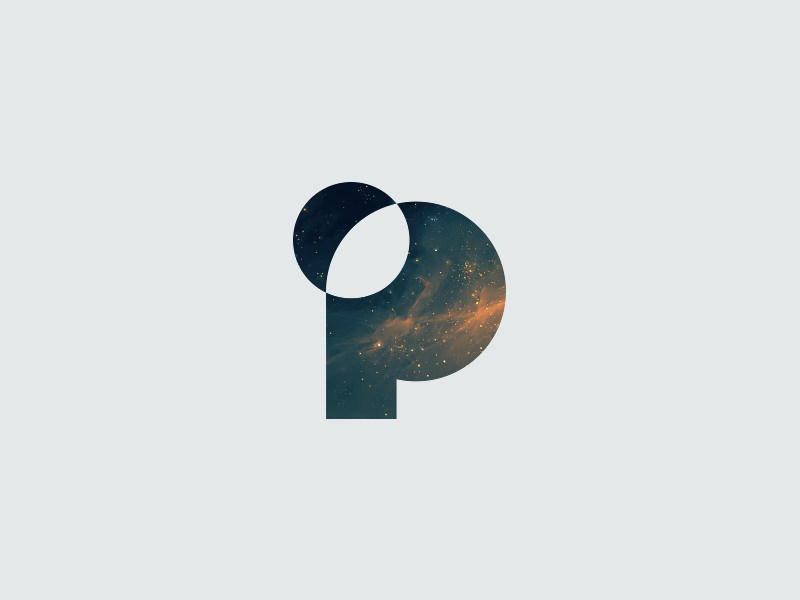 P is for Planet Logo Design
