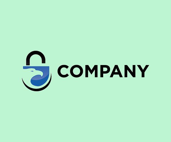 Pad Lock Logo Design