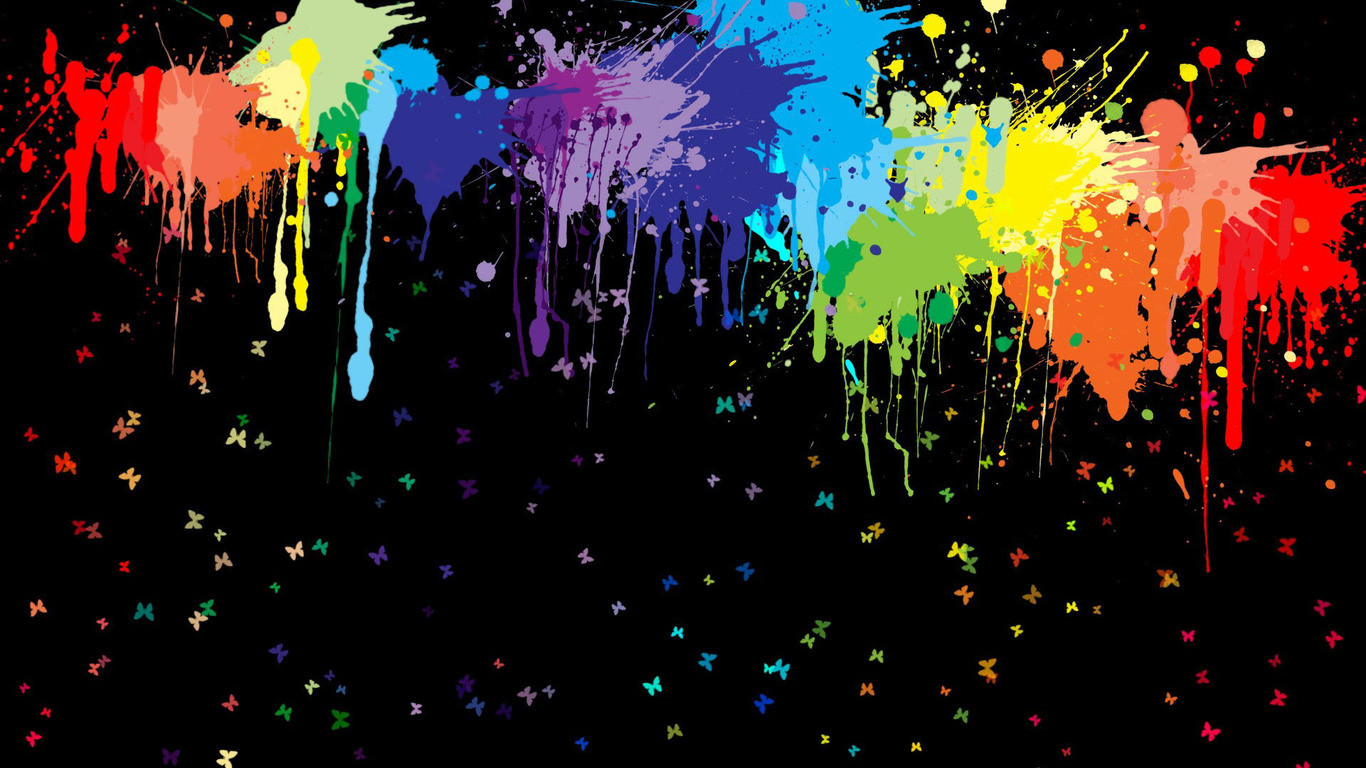 21 paint splatter backgrounds wallpapers images