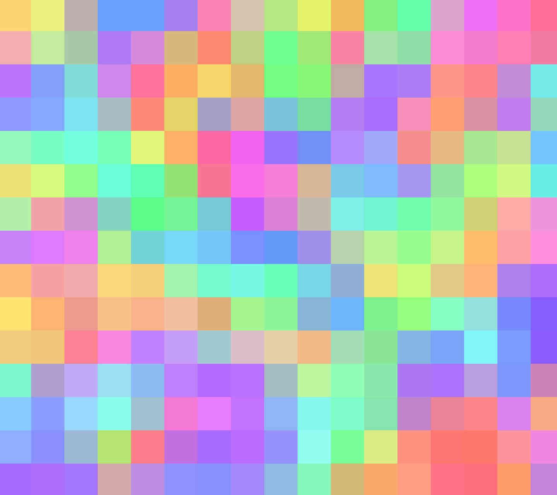 Pastel Squares Wallpaper