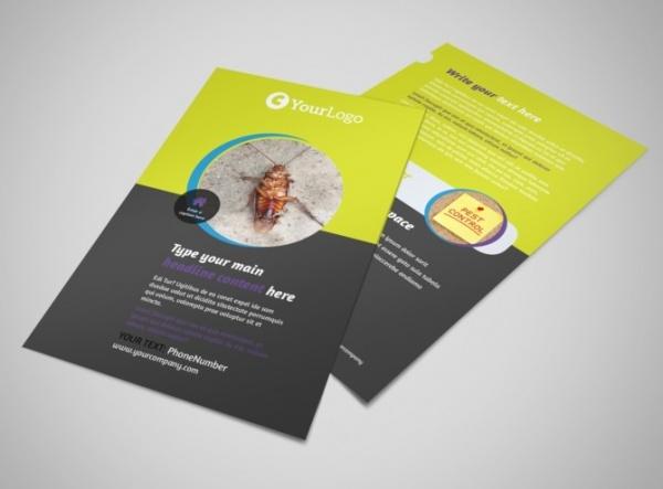 pest control services flyer