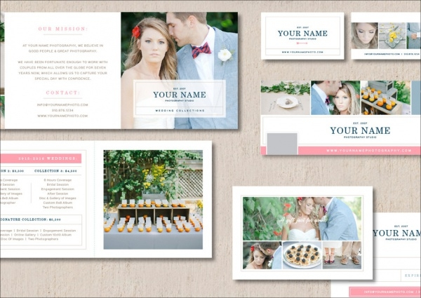 Photographer Marketing Presentation Template