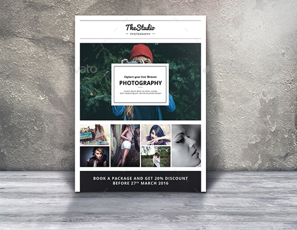 Photography Marketing Flyer