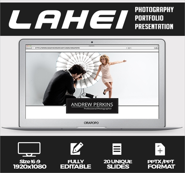 Photography Portfolio Presentation