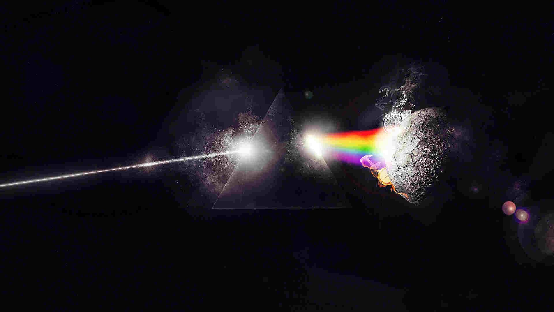 Pink Floyd Sparkling Wallpaper