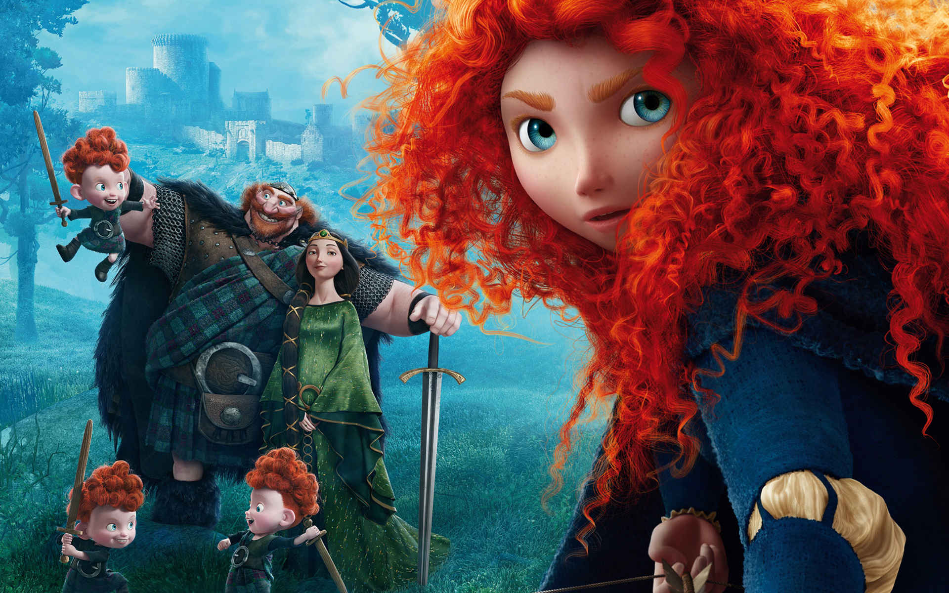 Pixar Brave Animated Wallpaper