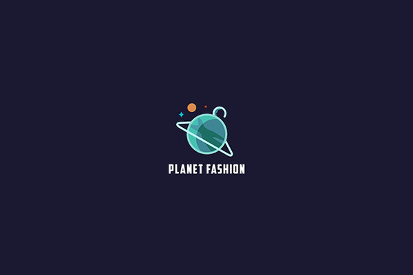 Planet Logo Design For Fashion