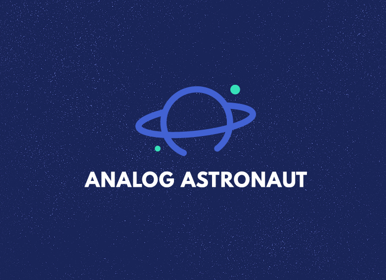 Planet Logo For Astronaut