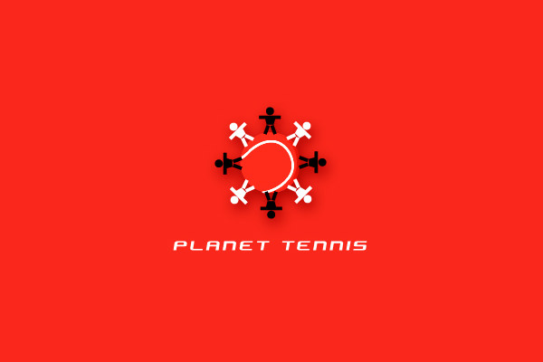 Planet Logo For Tennis