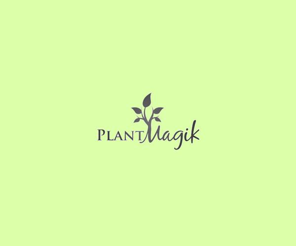 Plant Magic Nature Logo