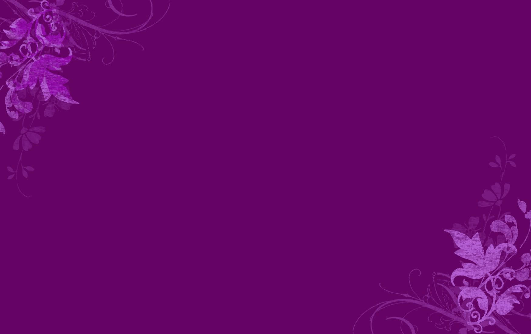 Purple Flower Website Background