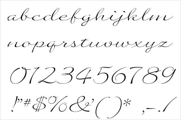 Quilline Script Thin Font