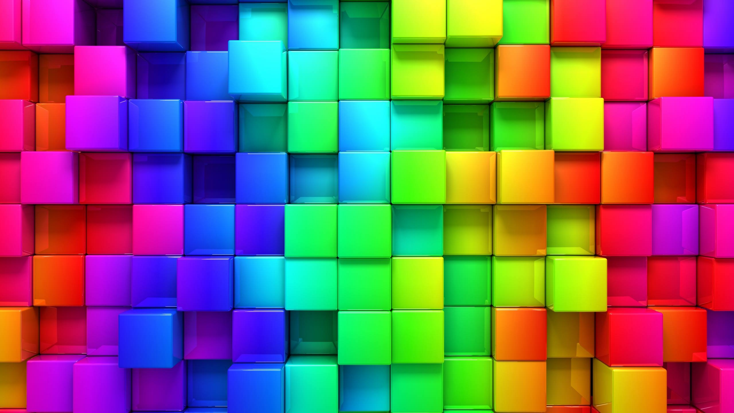 Rainbow 3d Graphics background