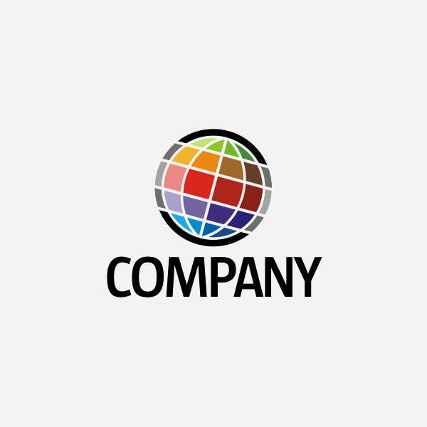 Rainbow Colored Web Logo