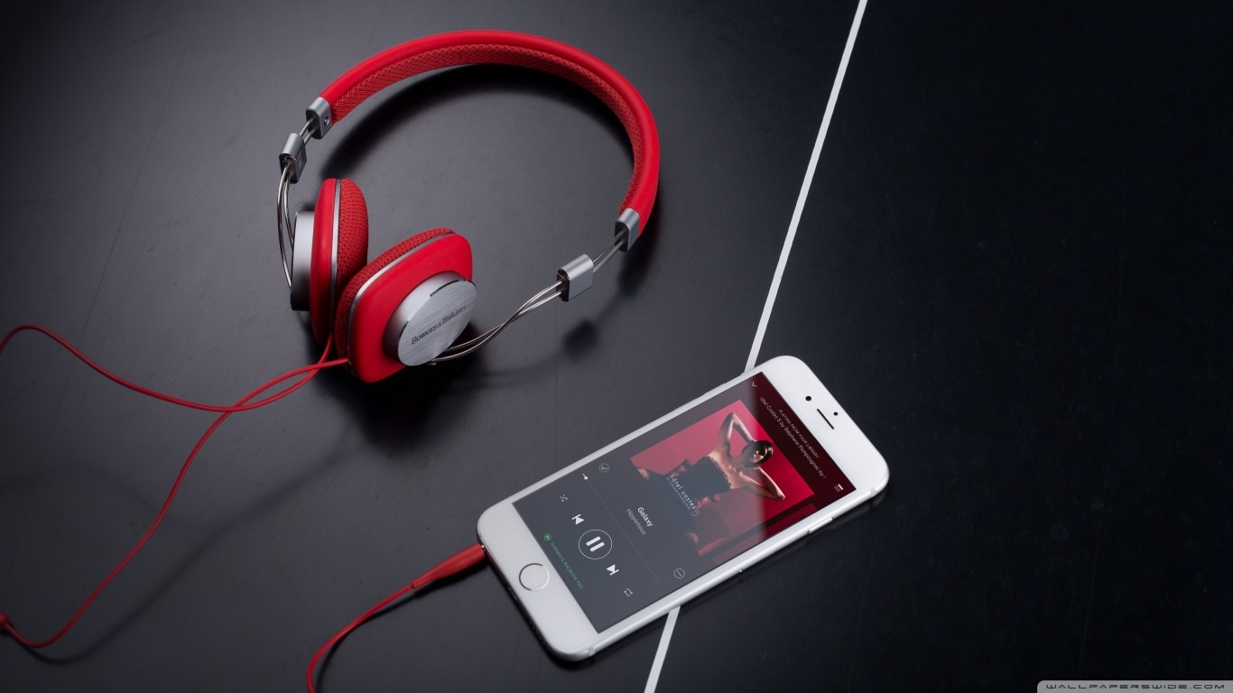 Red Bowers & Wilkins P3 Headphone