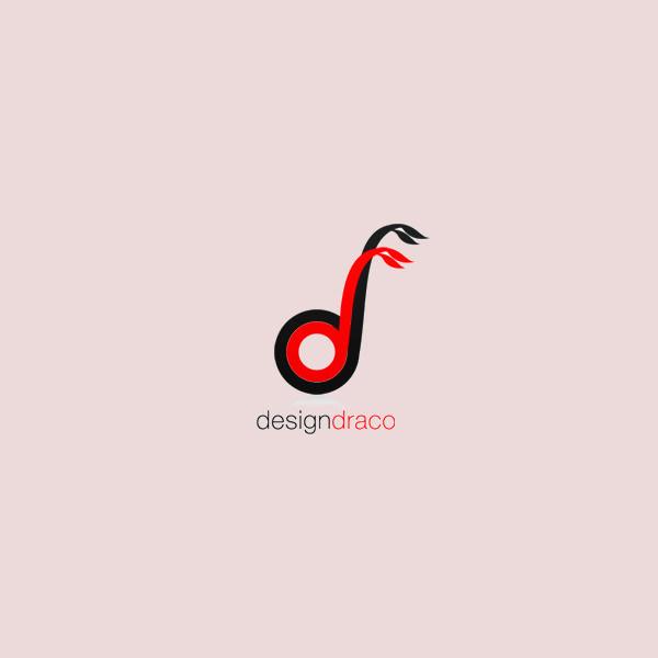 Red Wisdom Dragon Logo
