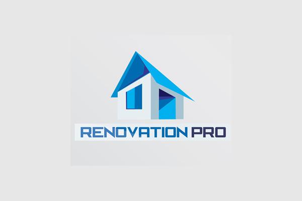Renovation Pro Real Estate Home Logo
