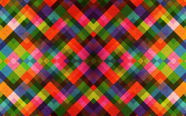 Retro Artwork Abstract Pattern