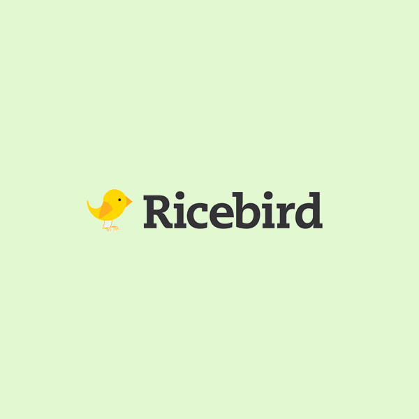 Rice Bird Shopping Logo