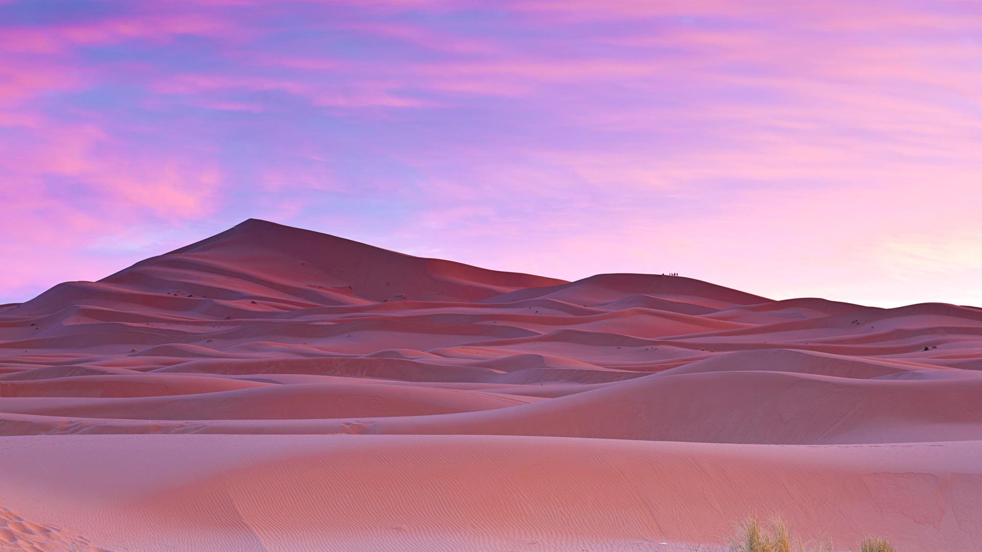 Sahara Desert Morocco Landscape Wallpaper