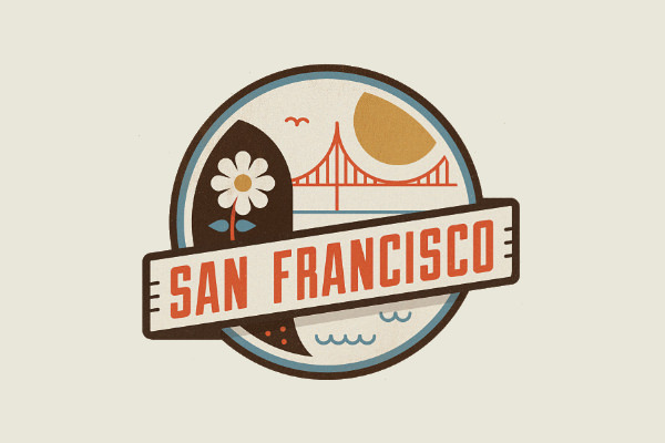 21 city logos building logos logo designs freecreatives for Design companies in san francisco