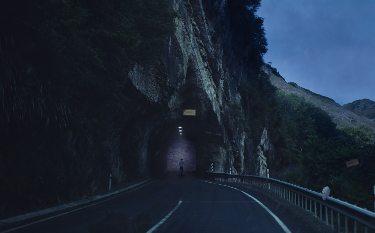 Scary Road Way Wallpaper
