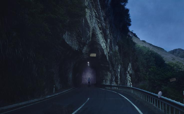Scary Road Way Wallpaper