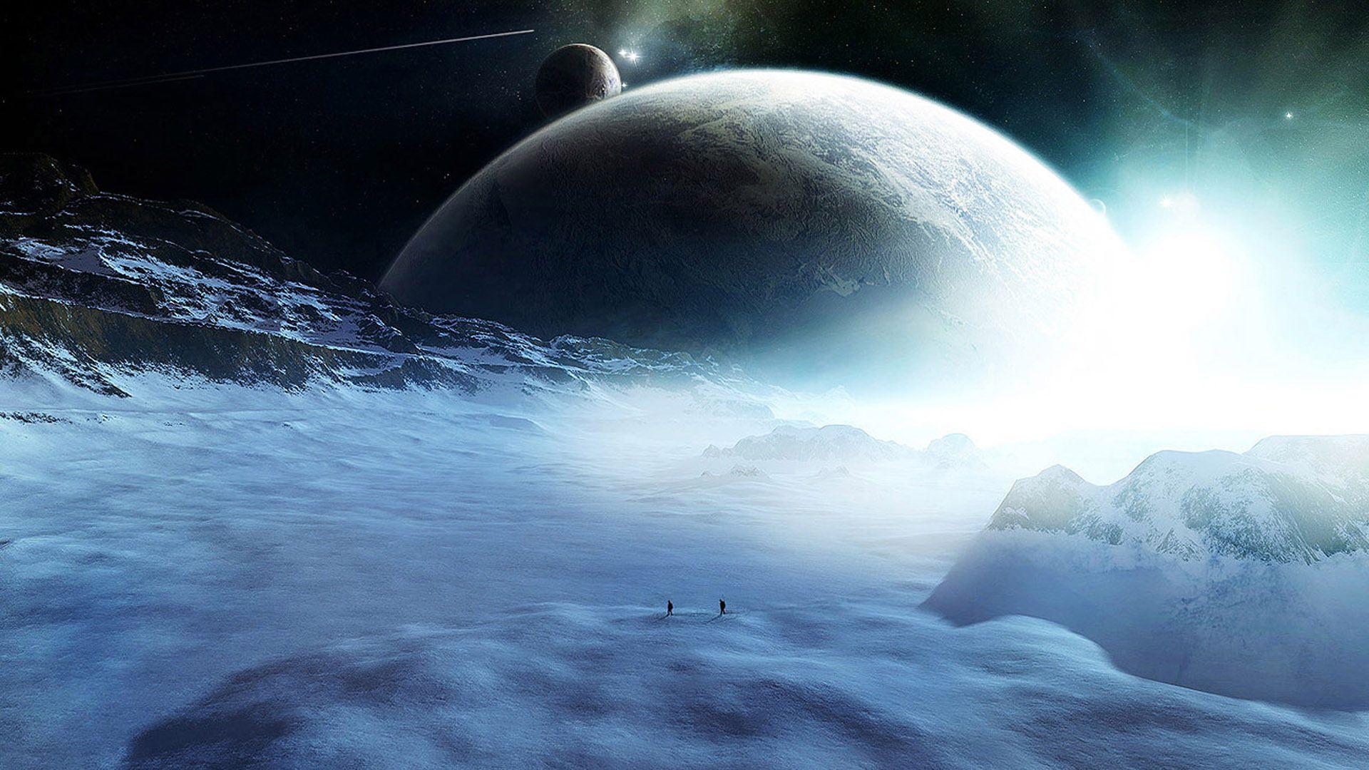 Sci Fi Space Travelers