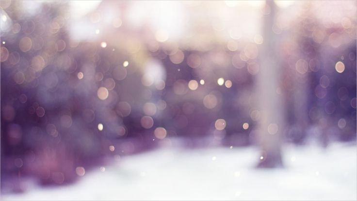 Shiney Dots Blurred Wallpaper