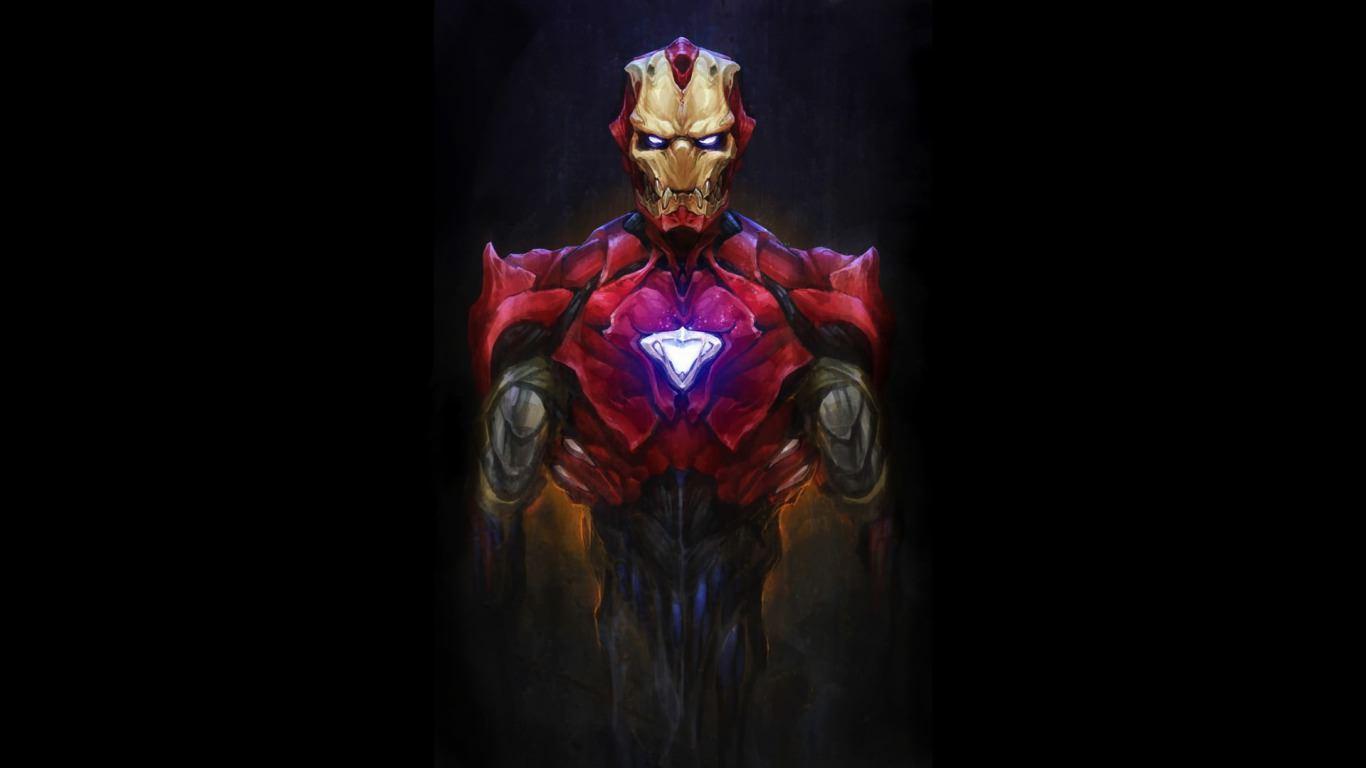 Simple Iron Man Wallpaper