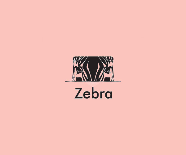Simple Sight Zebra Logo