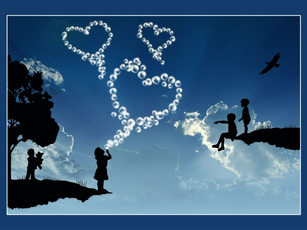 Sky love  Background