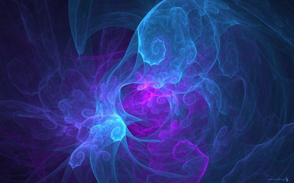 Smoke Blurred Bright Wallpaper