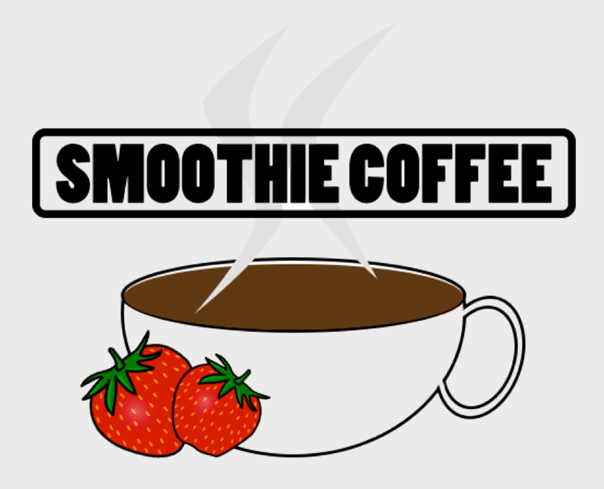 Smoothie Coffee Logo