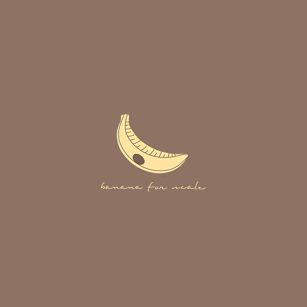 Smoothy Hand Drawn Banana Logo