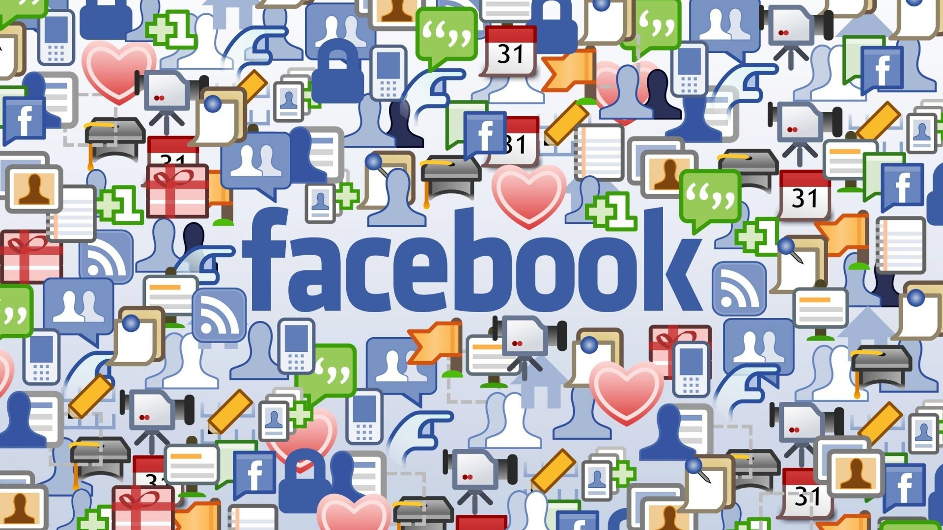 Social Networking Facebook Wallpaper