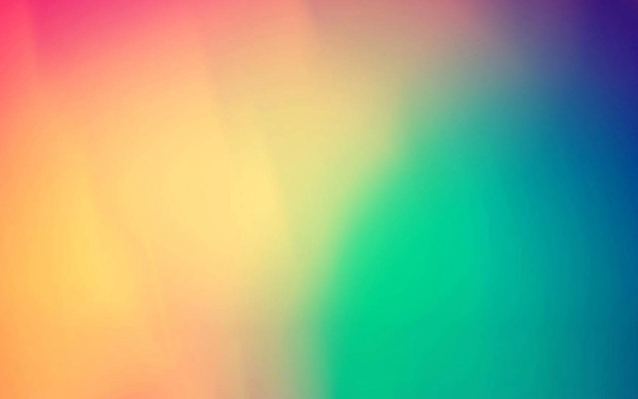 Solid Rainbow Color Wallpaper