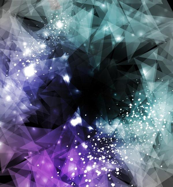 Sparkling Modern Background