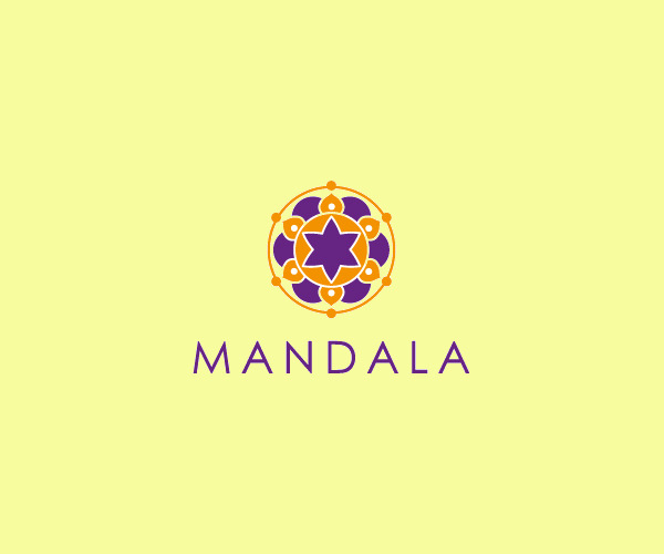 20 Mandala Logos Circular Logo Designs Freecreatives