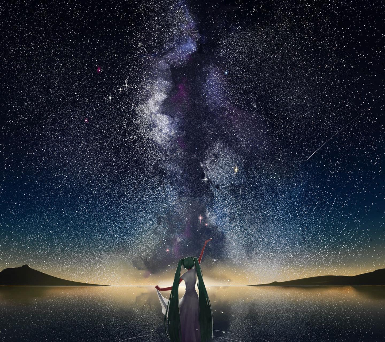 Star Sky Vocaloid Wallpaper
