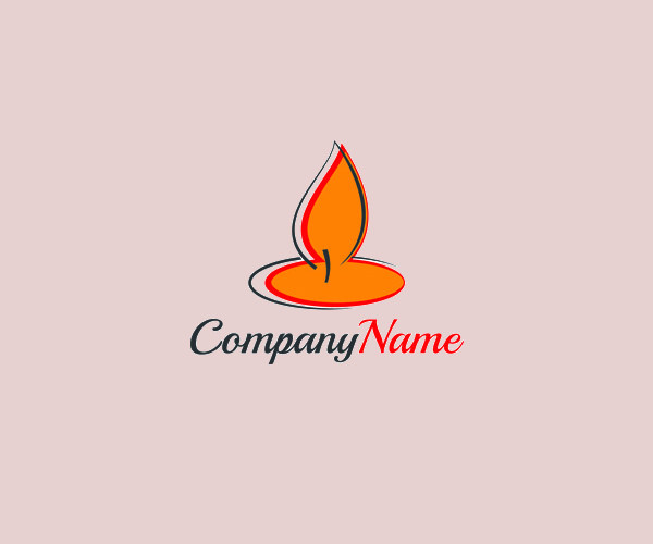 Stunning Candle Breeze Logo